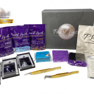 Classic Eyelash Extension Starter Kit by Pearl Lash