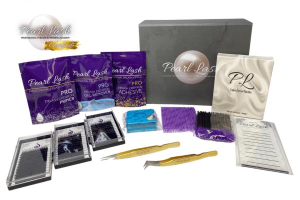 Classic Eyelash Extension Starter Kit by Pearl Lash