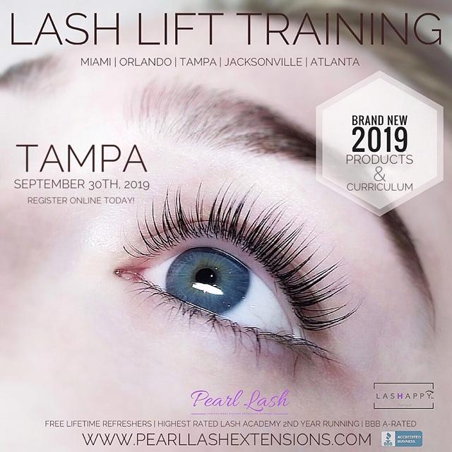 79e413918d4 Tampa Eyelash Lift & Tint with Keratin Training 9/30/2019