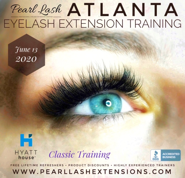 Atlanta Classic Eyelash Extension Training