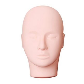 Mannequin Head for Eyelash Extension Practice