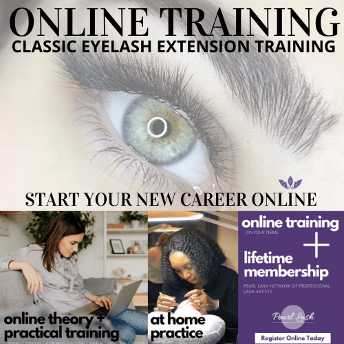 Online Classic Eyelash Extension Training