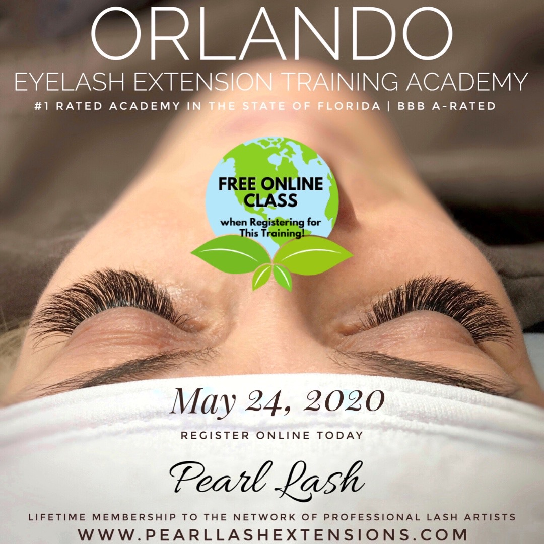 Orlando Classic Eyelash Extension Training May 24, 2020