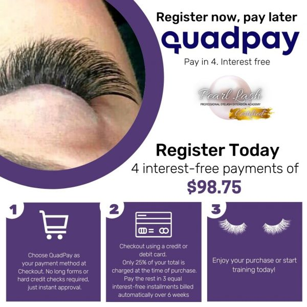 QuadPay Online Classic Register now, pay later