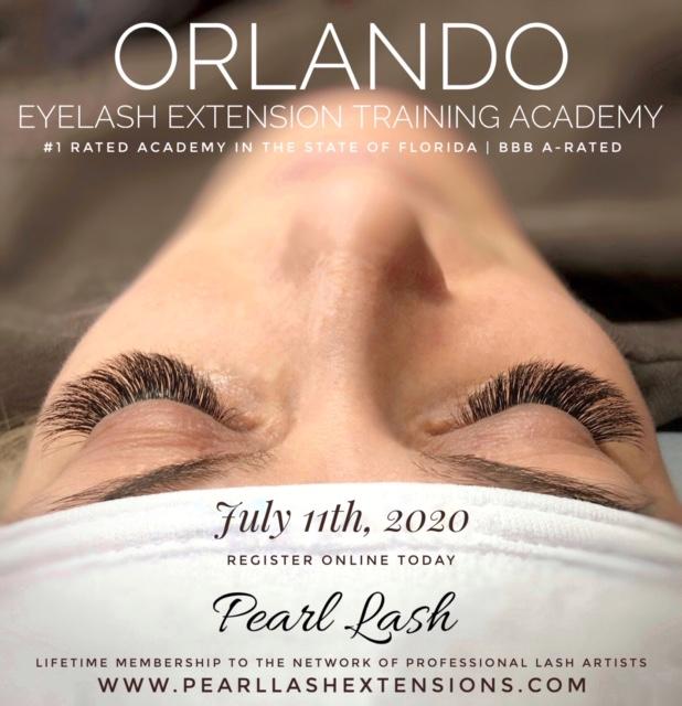Orlando Eyelash Extension Training by Pearl Lash
