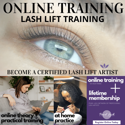 Lash Lift Online Training by Pearl Lash