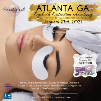 Eyelash Extension Training Academy Pearl Lash Atlanta, GA